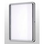Bacheca per interni - fondo magnetico bianco - 6 fogli A4 - orizzontale - Nobo