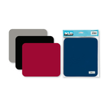 Tappetino per mouse - 220x255 mm - grigio - Niji Italiana