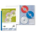 Porta CD/DVD personalizzabile Uno Ti CD - 30 tasche - 220x300 mm - Sei Rota