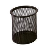 Bicchieri portapenne - rete metallica - nero - Lebez