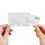 Buste per biglietti da visita - per schedari Visifix® - Durable - conf. 40 pezzi