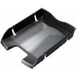 Vaschetta portacorrispondenza - plastica riciclata - 35,5x27,5x6,6 cm - nero - Helit