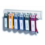 Portachiavi Key Clip - colori assortiti - Durable - conf. 6 pezzi