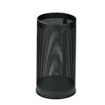 Portaombrelli tondo - metallo forato - 20 litri - diametro 24 cm - altezza 48 cm - nero - StilCasa