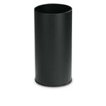 Portaombrelli tondo - metallo - diametro 24 cm - altezza 49 cm - 20 litri - nero - StilCasa