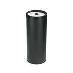 Posacenere con sabbia - 50 litri - diametro 33cm - altezza 80cm - nero - Stilcasa