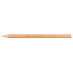 Supermina pastelli colorati - esagonali Ø 7,6mm lunghezza 18cm e mina Ø 3,8mm - pesca - Giotto