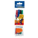 Penna a sfera cancellabile Cancellik - punta 1,0mm - colori assortiti - Tratto - conf. 4 pezzi