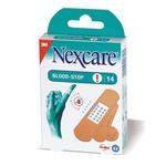 Cerotti emostatici Blood Stop - formati assortiti - Nexcare - conf. 14 pezzi