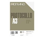 Fogli protocollo -  A4 - quadretto 4mm - 200 fogli - 60 gr - Fabriano