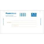 Cartolina raccomandata A/R - con adesivo rimovibile - 10 x 20cm - Edipro - conf. 100 cartoline