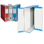 Scatola archivio Box1 - 37.5x29.5x9 cm - rosso - Resisto