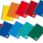 Quaderno One Color - A5 - 1 rigo - 60 fogli - 80gr - 4 fori - spiralato - Blasetti