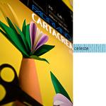 Cartoncino CartaCrea - 35x50cm - 220gr - celeste 118 - Fabriano -  blister 10  fogli