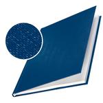 Copertine Impressbind - rigide - 7 mm - finitura lino - blu - Leitz - scatola 10 pezzi