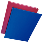 Copertine Impressbind - rigide - 10,5mm - finitura lino - blu - Leitz - scatola 10 pezzi