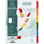Divisori in cartoncino Nature Future tasti neutri