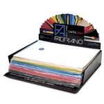 Cartoncino Cartacrea - 35x50cm - 220gr - 25 colori assortiti - Fabriano - Expo 260 fogli