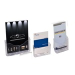 Portadepliant da banco - 1 tasca A4 + separatore - 24x28x10 cm - Tecnostyl