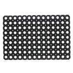 Tappeto Best - gomma antishock - 100x150 cm - nero - Velcoc