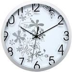 Orologio da parete Flowers - diametro 30,5 cm - bianco - Methodo