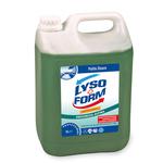 Detergente disinfettante per pavimenti - Freschezza alpina - Lysoform - tanica da 5 L