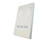 Carta copriwater Mini - 43x37 cm - bianco - Mar Plast - conf. 200 pezzi