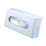 Dispenser per veline di carta - da muro - 27x7x14 cm - bianco - Mar Plast