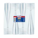 Bicchieri Flutes Diamant - monouso - trasparente - Dopla - conf. 20 pezzi