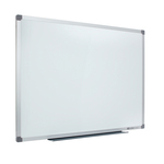 Lavagna bianca magnetica Classic - 90x120 cm - bianco - Nobo