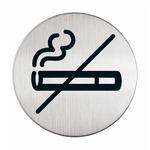 Pittogramma adesivo - Zona non fumatori - acciaio - diametro 8.3 cm - Durable