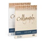 Carta Calligraphy Canvas - A4 - 200 gr - avorio 02 - Favini - conf. 50 fogli