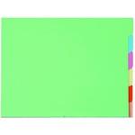 Cartelline con tacca per cartelle sospese - armadio - 240 gr - 24x32 cm - Exacompta - conf. 6 pezzi