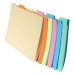 Cartelline con tacca per cartelle sospese - cassetto - 24x32 cm - Exacompta - set 6 pezzi