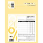 Blocco DDT/fattura - 3 copie autoricalcanti - 29,7 x 22cm - 33 fogli - Edipro