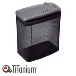 Distruggidocumenti Metal 411S - strisce - 17Litri - Titanium