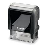 Timbro trodat printy 4912 4.0 47x18 ecoblack