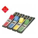 Segnapagina Post it® Index Mini - 4 colori classici - Value Pack 4+2 (blister da 140 segnapagina ciascuno)