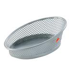 Portafermagli Mesh - rete metallica - 10,5x7,3x4 cm - argento - Alba