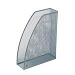 Portariviste Mesh - rete metallica - 26x8x33,5 cm - argento - Alba