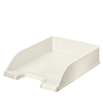 Vaschetta portacorrispondenza WOW - 25,5x35,7x7 cm - 22x30 cm - bianco metallizzato - Leitz
