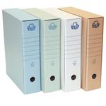 Registratore Eco New - dorso 8 cm - protocollo - grigio - Brefiocart