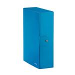 Scatola progetto WOW - dorso 10 cm - blu metallizzato - Leitz