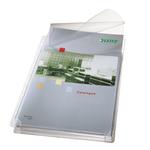 Buste forate alta capacità con lembo - 22x30 cm - PVC- Leitz - trasparente - conf. 5 pezzi