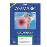 Carta transfer per tessuto scuro - stampa inkjet - A4 - As Marri - conf. 10fg