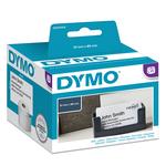 Rotolo 300 etichette LW S0929100 - 51x89 mm - non adesivo - per badge - bianco - Dymo