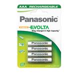 Pile Ministilo Infinium ricaricabili AAA - 1,2V - Panasonic - blister 4 pezzi