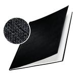 Copertine Impressbind - rigide - 24,5 mm - finitura lino - nero - Leitz - scatola 10 pezzi