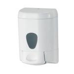Dispenser da muro Prestige per sapone liquido - 15,9x8x10,5 cm - capacità 0,55 L - bianco - Mar Plast