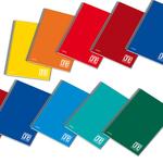 Quaderno One Color - A5 - quadretto 5mm - 60 fogli - 80gr - spiralato - Blasetti